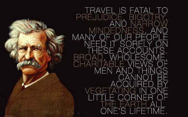 Mark Twain Says
